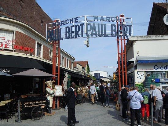 Marché Paul Bert Serpette