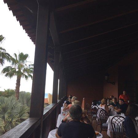 La Palma & Teneguía Princess Vital & Fitness: Restaurant balcony views