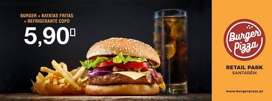 Burger Pizza: Menu