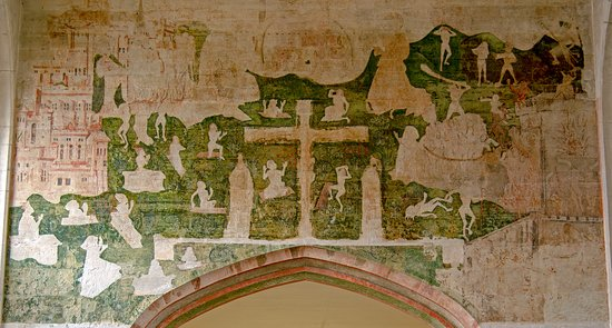 Some of the medieval wall art recently uncovered - Picture of The ...