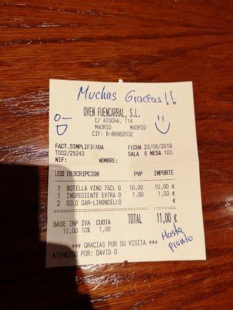 Bilde fra Oven Mozzarella Bar Atocha