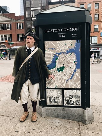 Histrionic Freedom Trail Tour