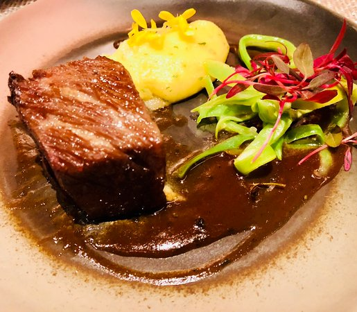 Arts Cafe by Raffles: For the meat lovers, this is a must, the rib eye steak