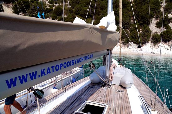 Lefkada Town, Greece: KATOPODIS YACHTING IN ACTION