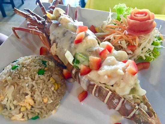 Andaman Aussie: Lobster torpedo red