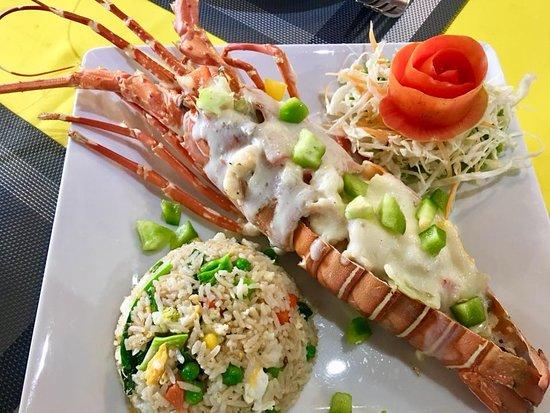 Andaman Aussie: Lobster torpedo green