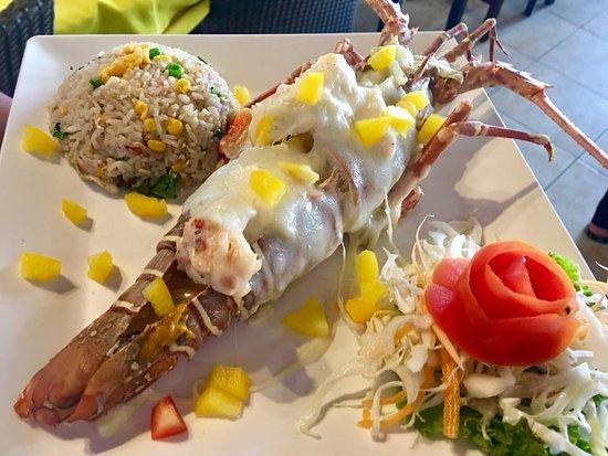 Andaman Aussie: Lobster torpedo yellow