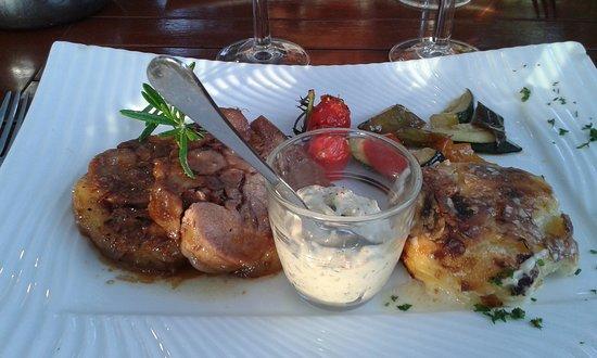L'Assiette Saltoise: tête de veau sauce gribiche