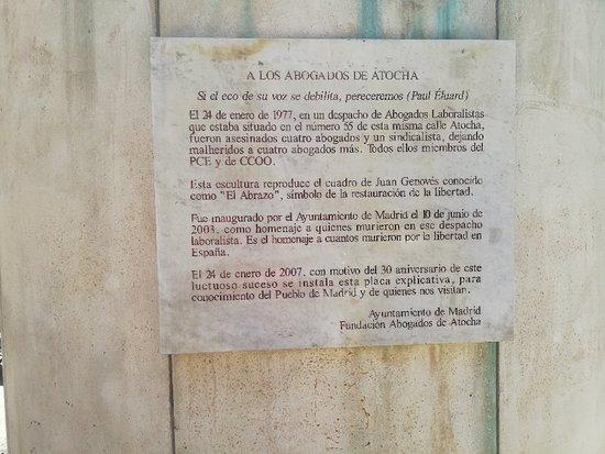 Monumento Abogados Atocha
