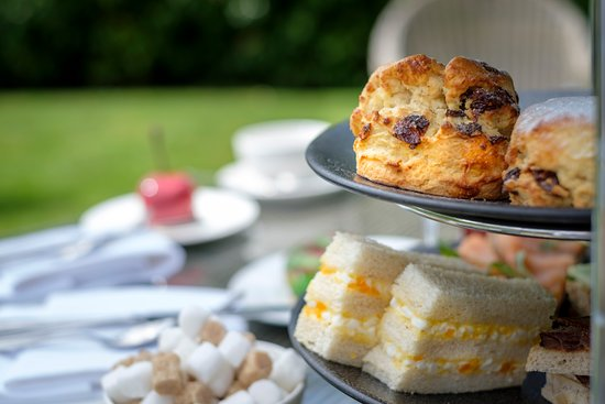 The Coach House By Michael Caines: Afternoon Tea in the grounds of Kentisbury Grange Hotel