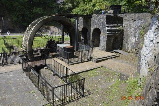 Aberdulais, UK: Ruins of workplace