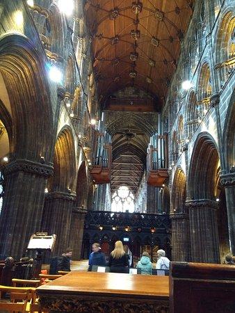 Glasgow, UK: Vista da nave para a frente