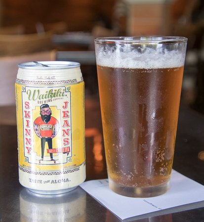Town Restaurant: nice local beer