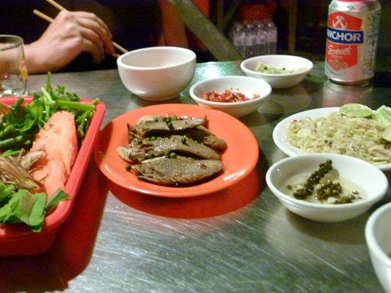 Siem Reap Food Tours: Duck tongue
