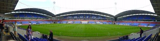 University of Bolton Stadium: the pitch