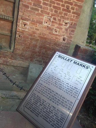 Jallianwala Bagh: Bullet Marks