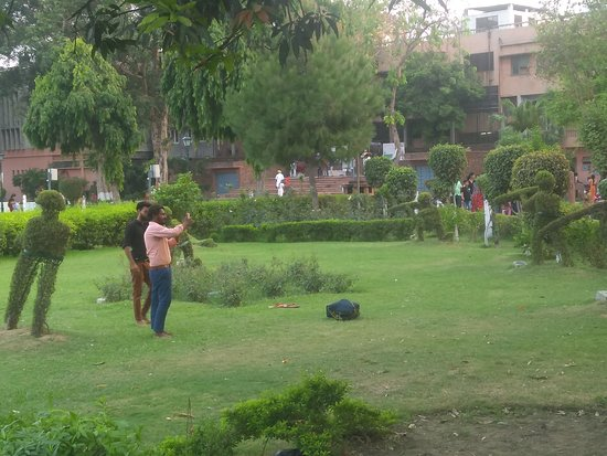Jallianwala Bagh: Garden Showing Martyrs