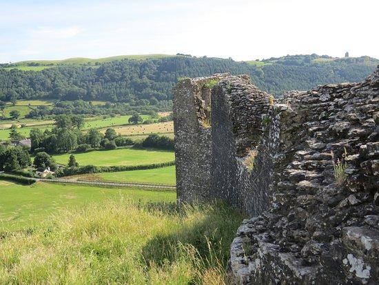 Dryslwyn Castle: Beautiful views