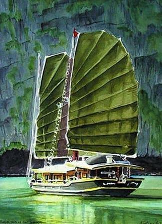 Vintage Junks: Indochina Sails - Lan Ha Bay