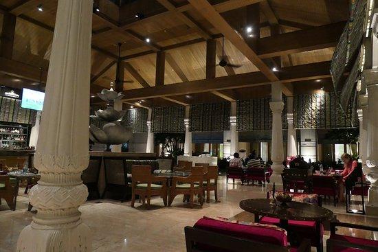 Inside the Lotus Pavilion