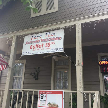 Baan Thai Sala Covington Menu Prices Restaurant Reviews Tripadvisor