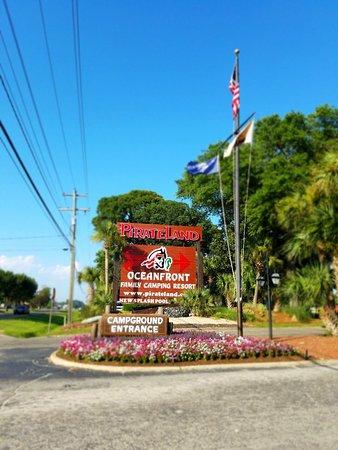 Foto de Pirateland Oceanfront Campground