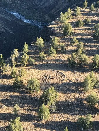 Panacea at the Canyon: Loose yourself in the Meditation Labyrinth.