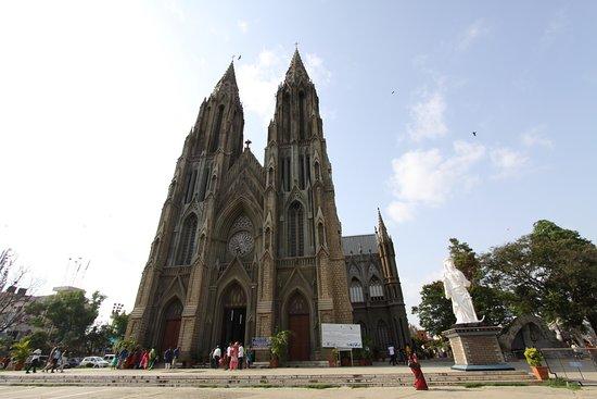 St. Philomena's Church: outside view 2