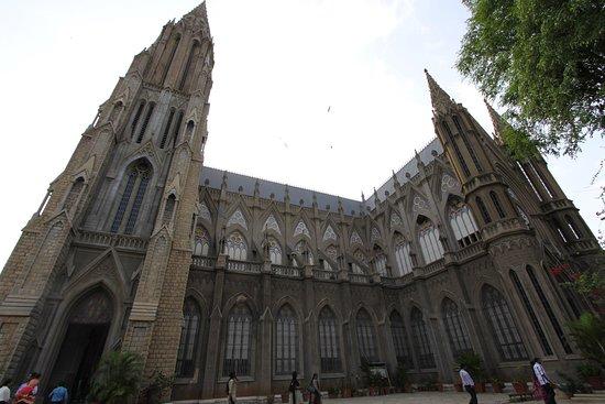 St. Philomena's Church: outside view 3