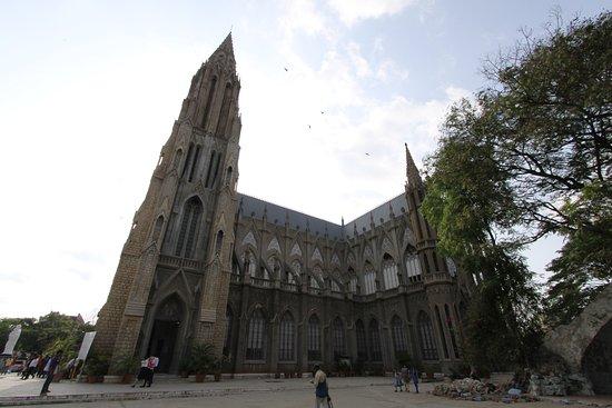St. Philomena's Church: outside view 4