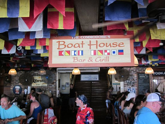 The Boat House: look for this sign