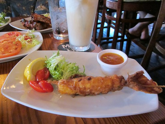 The Boat House: panko lobster tail