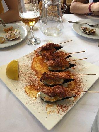 Cabezo de Torres, Spain: Pulpo con patata y pimentón