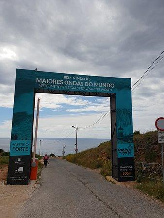 Forte de Sao Miguel: De boog naar de Hoge golven