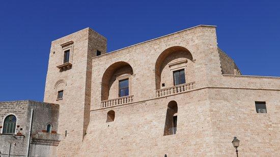 B&B Dimora VicoLungo: Vista del castello dal terrazzino.