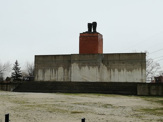 Memento Park: stivali di Stalin