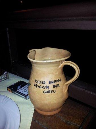 Achilleio, اليونان: delicious Greek wine.