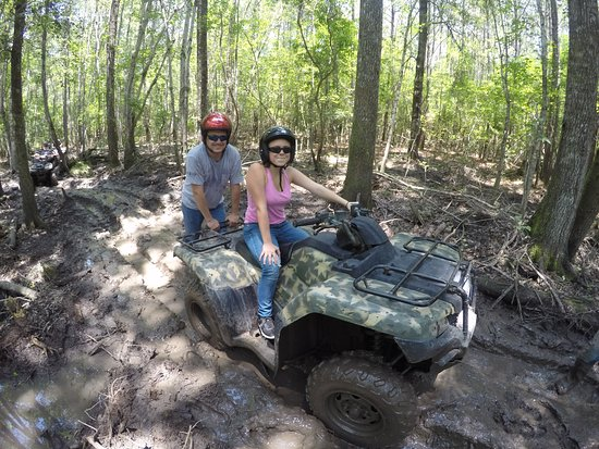 Ash Myrtle Beach Atv Tours Her First Time Stuck