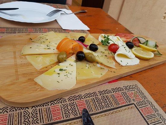 Citta Vecchia: Cheeseplat