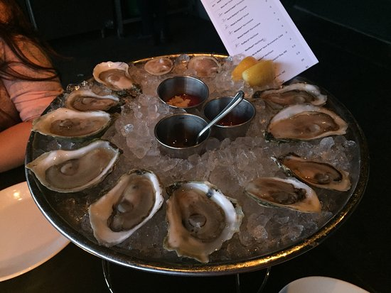 Row 34: Oysters