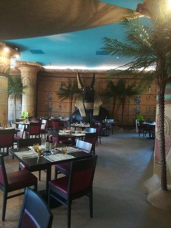 Tutankhamon Restaurant: Interno