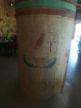 Tutankhamon Restaurant: Interni a tema