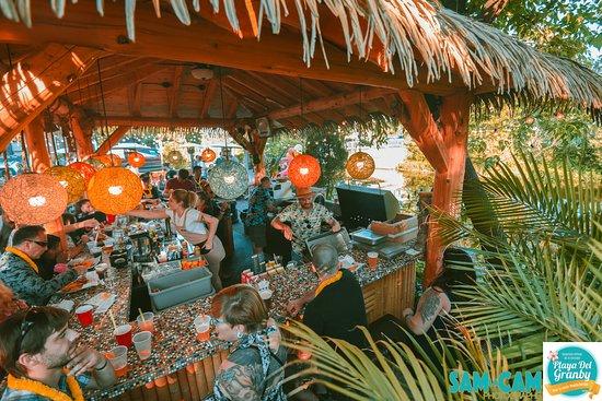 Le Cafe de la Brulerie: Notre Tiki Bar
