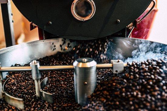 Le Cafe de la Brulerie: Nous torréfions notre café