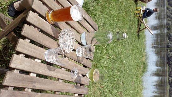 Volupia: petits verres en bord de Loire