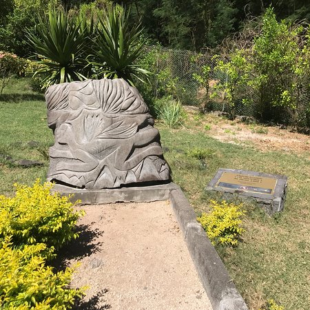 Bilde fra International Slave Route Monument
