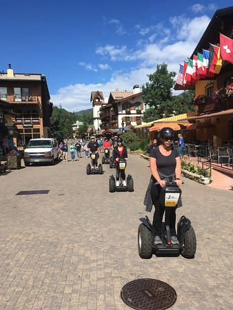 Vail Segway: Explore as a family!