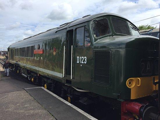 BR Standard Class 7 (Britannia Class) No 70013 'Oliver