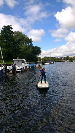 ShoreSports: Paddle boarding down the stour