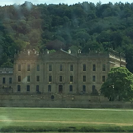 South Wingfield, UK: Lovely surroundings. Nice day in Chatsworth house and great accomodation